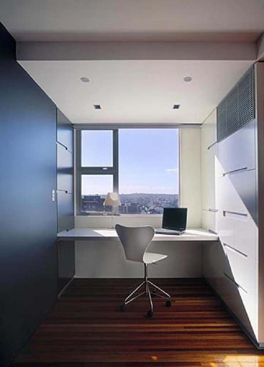 Home Office Space Apartment Renovation by Stanic Harding