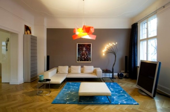 Modern Apartment Interior Design Ideas Berlin Rodeo Furniture Lighting