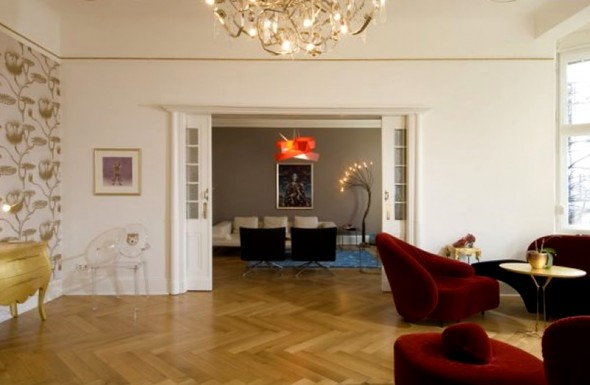 Modern Apartment Interior Design Ideas Berlin Rodeo Golden Room