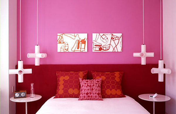 pink highlights not only make rooms cozy but also make them more modern