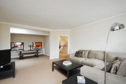 Bright and airy duplex apartment