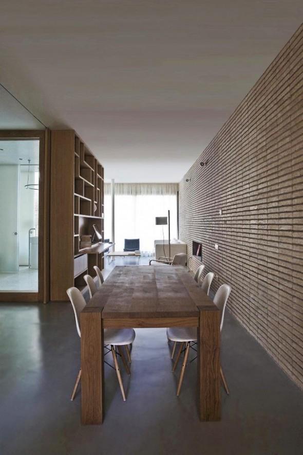 Dining room Interior at Apartment