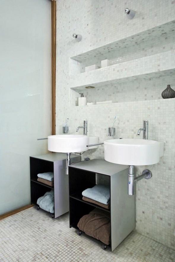 Interior Wastafel at Apartment