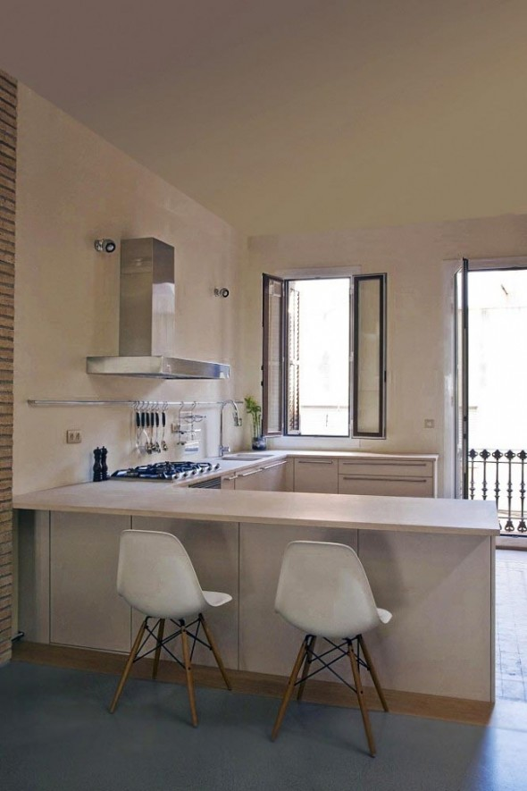 Kitchen Interior at Apartment