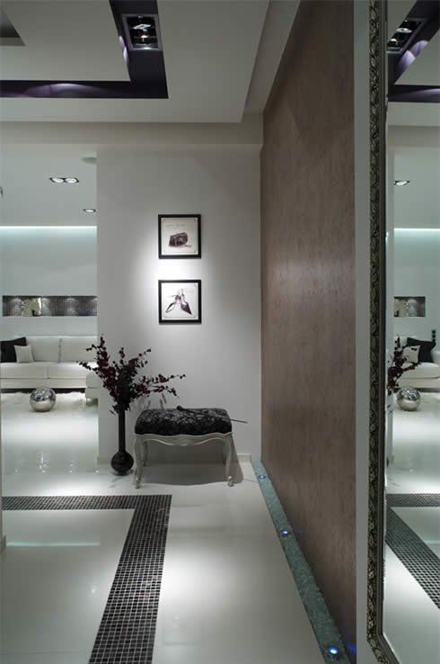 Modern Apartment Design Snowy Christmas Style by Erges-Beautiful Design