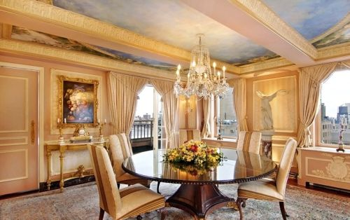 New York Fifth Avenue 1049 Penthouse Dining