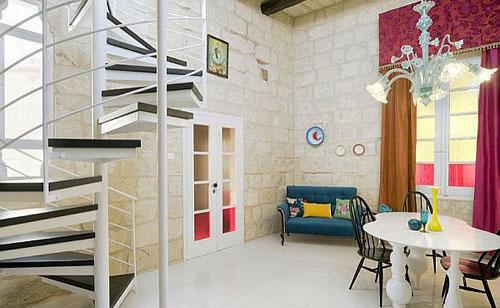 minimalist stairs-Modern Contemporary Apartment Indulgence Divine