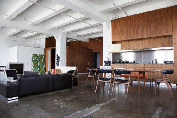 Loft in the heart Apartment Interior04 of New York City