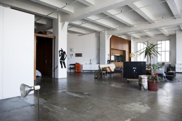 Loft in the heart Apartment Interior05 of New York City