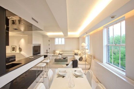 Two Combined One Bedroom modern Apartments