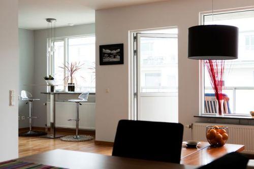White Interior Apartment