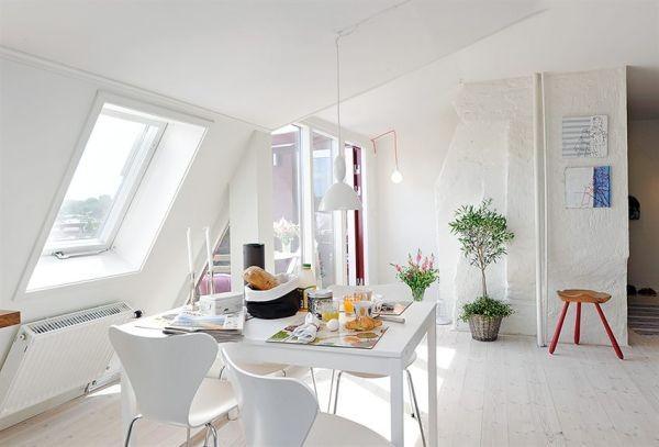 clean swedish apartment Interior61