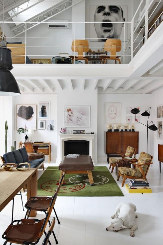 spanish loft design
