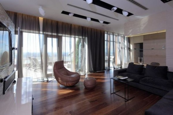 Penthouse in Moscow