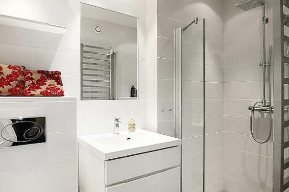 elegant bathroom cabinet apartment