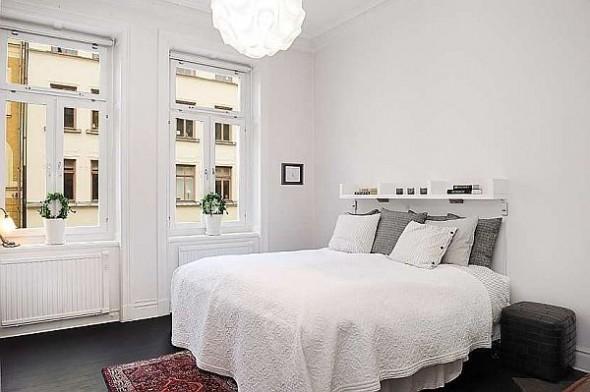 elegant bedroom apartment
