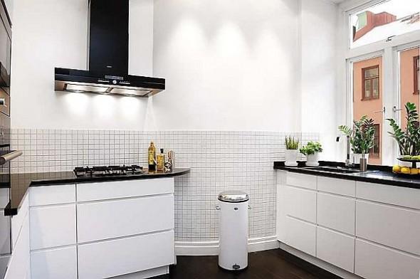 elegant kitchen apartment