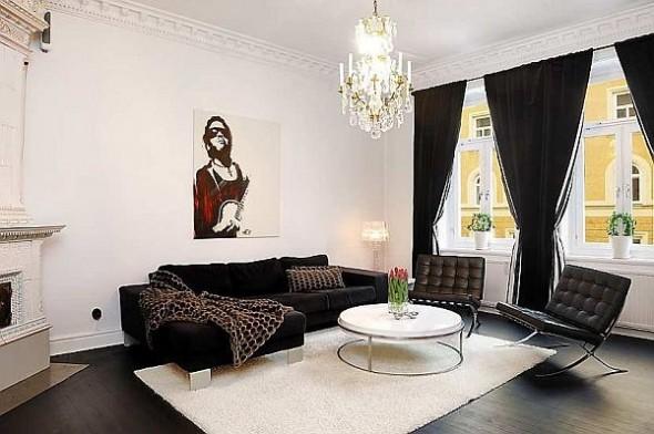 elegant living room apartment