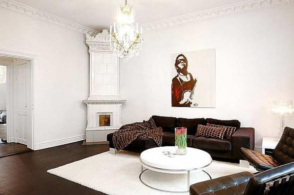 elegant sofa apartment