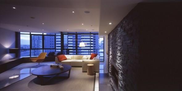 modern living room apartment melbourne