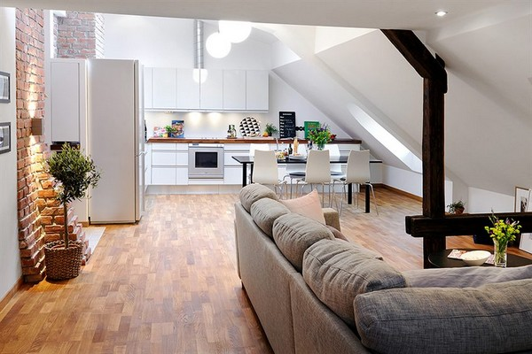 Gorgeous Penthouse small Apartment