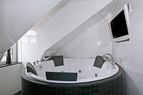 bath tube Penthouse Apartment in Stockholm