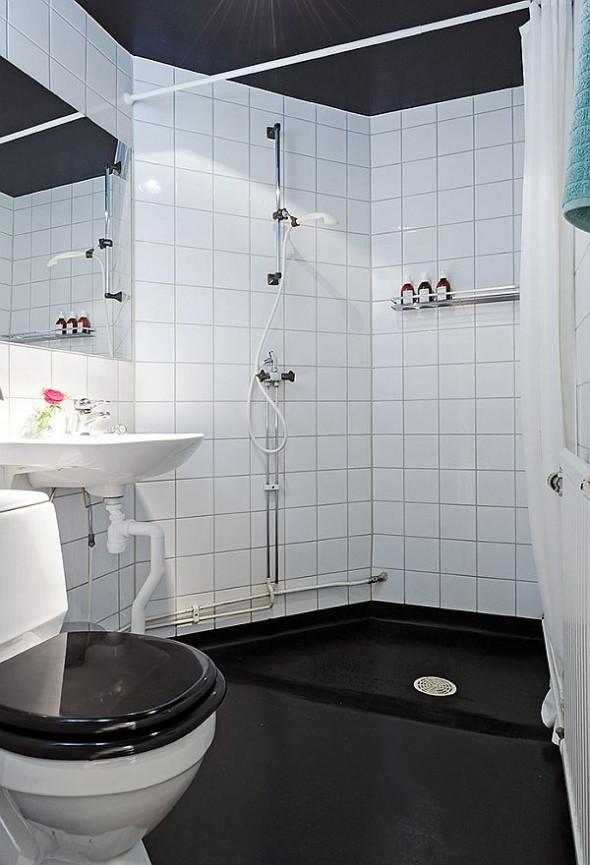 bathroom cozy apartment in Linnaeus Town