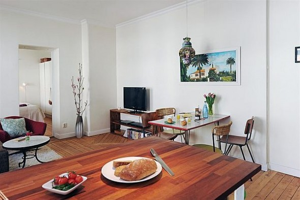 cozy dining room apartment in Linnaeus Town