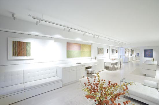 white Apartment Interior Design