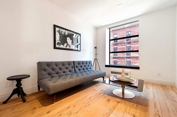 modern manhattan apartment sofa