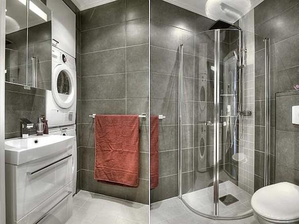 two bedroom apartment bath