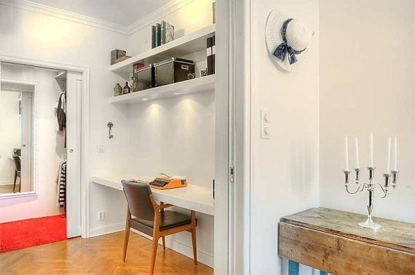 two bedroom apartment office