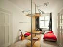Small Polish Apartment Designs - Modern Lamp