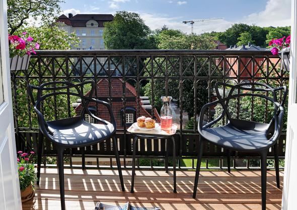 Linnestaden Apartment - Balconies