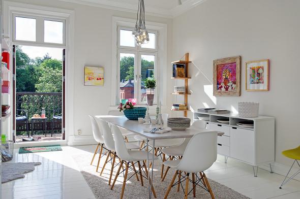 Linnestaden Apartment - Dining Room
