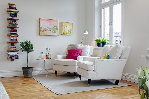 Linnestaden Apartment - Nyslipad and oiled parquet solid oak