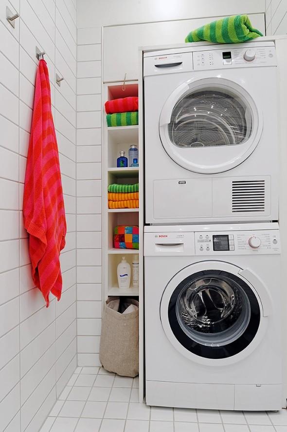 Linnestaden Apartment - Stacking and smart storage