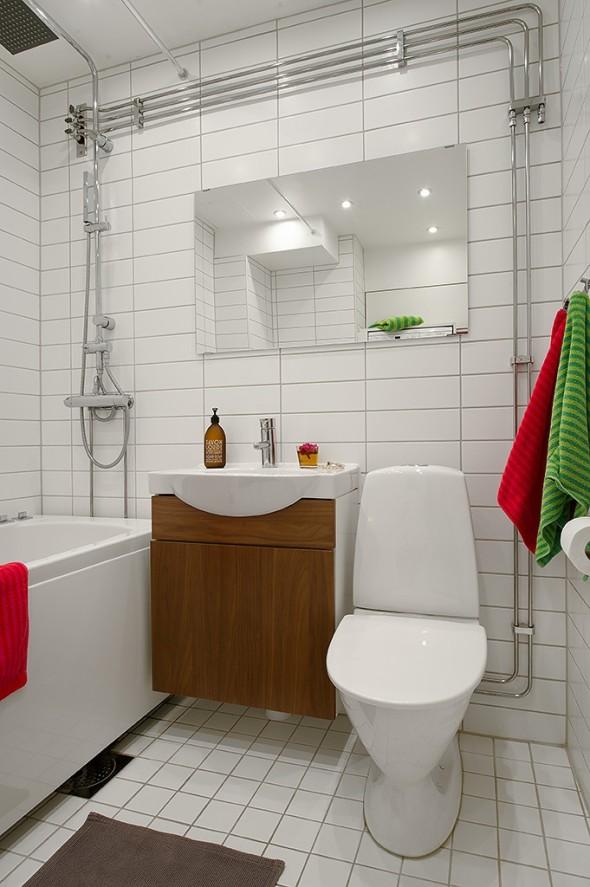 Linnestaden Apartment - Whirlpool tub, heated floors and dimmable spotlights