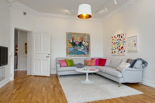 Linnestaden Apartment - sofa