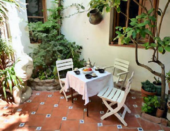 small patio idea