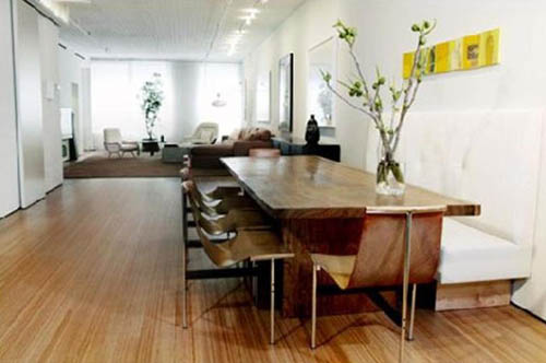 small apartment dining room by Tori Golub
