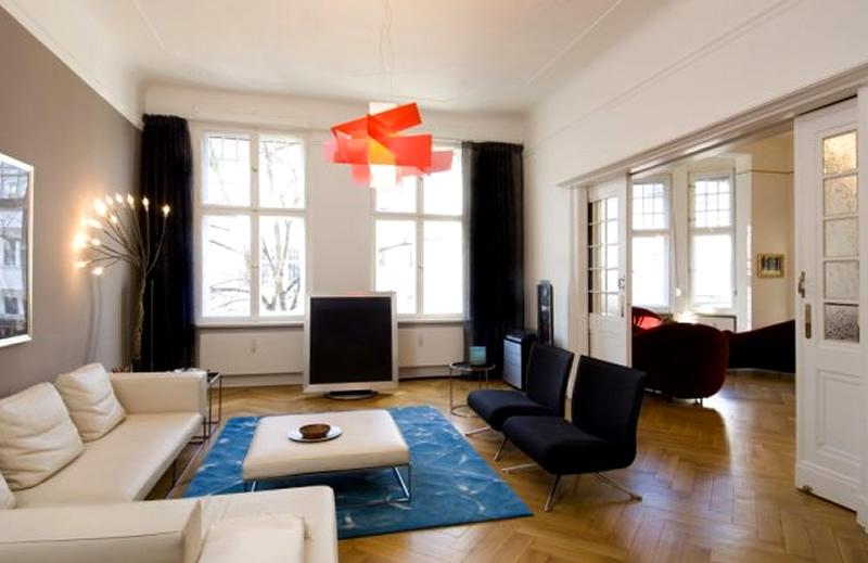 Modern Apartment Interior Design Ideas Berlin Rodeo Living Room