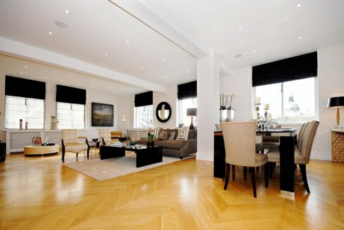 Living Room Apartment in Montpelier Walk, Knightsbridge