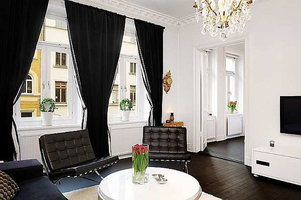 elegant reception apartment